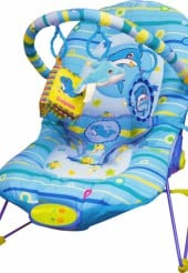 Babysitter Blue Dolphin Bouncer