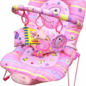 Babysitter Pink Dolphin Bouncer