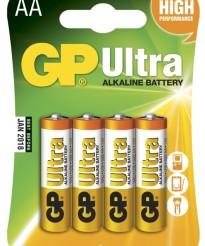AA GP Ultra LR6 Alkaliskt 4-pack