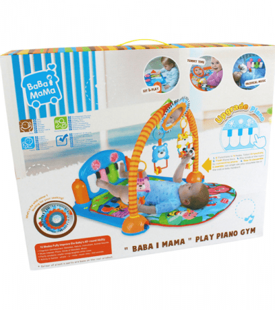 Babygym Kick and Play Piano