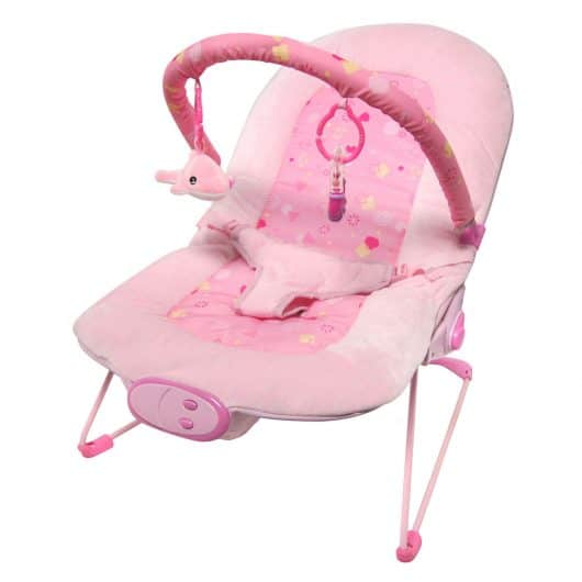 Babysitter Pink Little Star Bouncer
