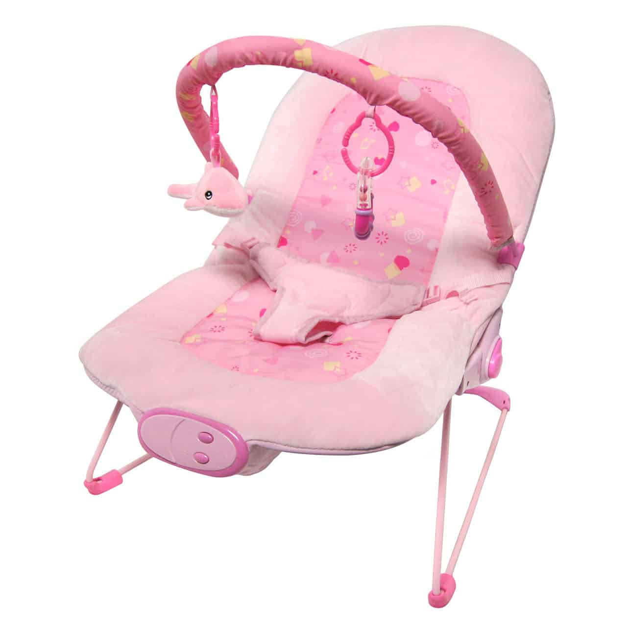 Babysitter Pink Little Star Bouncer