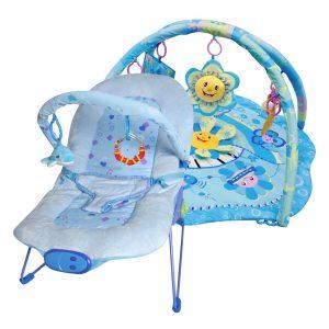 Paketerbjudande Babysitter och Babygym Blue Little Star