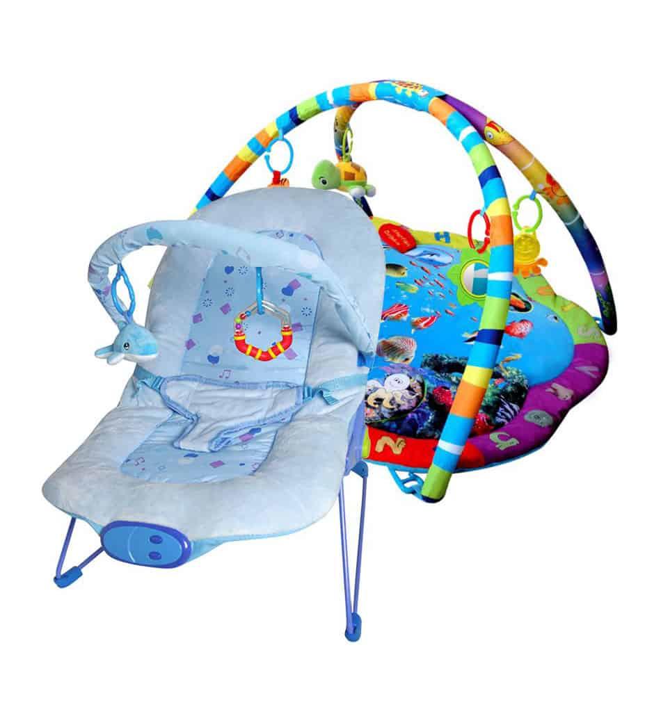 Paketerbjudande Babygym och Babysitter Blue Ocean Star