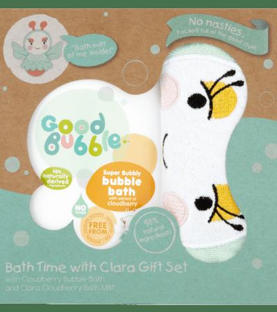 Clara presentset med naturligt badskum