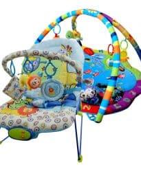 Paketerbjudande Babysitter och Babygym Animal Ocean