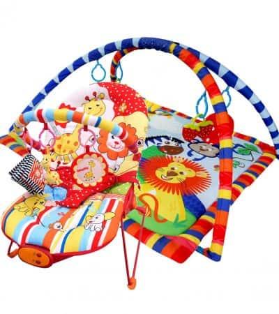 Paketerbjudande! Babysitter och Babygym Zoo Paradise