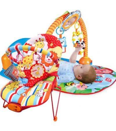 Paketerbjudande! Babysitter och Babygym Musical Garden