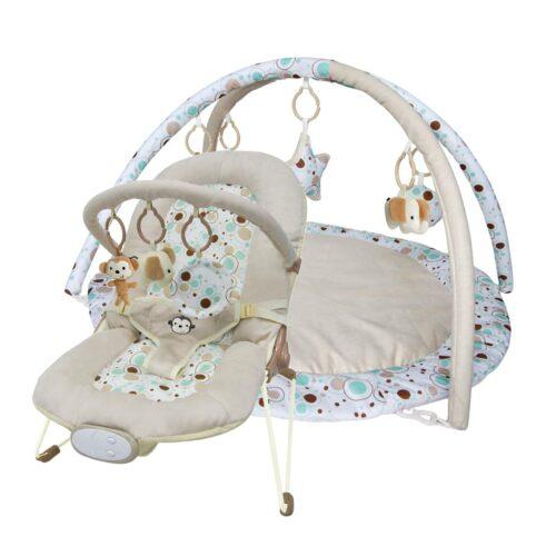 Paketerbjudande! Babysitter och Babygym Elegant and Comfort