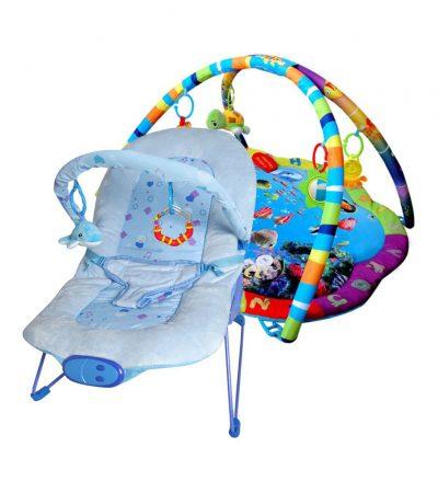 Ladida Babygym och Babysitter Blue Ocean Star Paketerbjudande