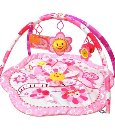 Ladida Babygym Pink Flower Musical Party