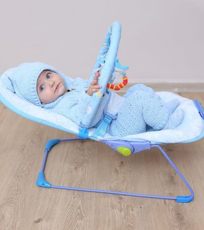 Ladida Babysitter Blue Little Star Baby Bouncer
