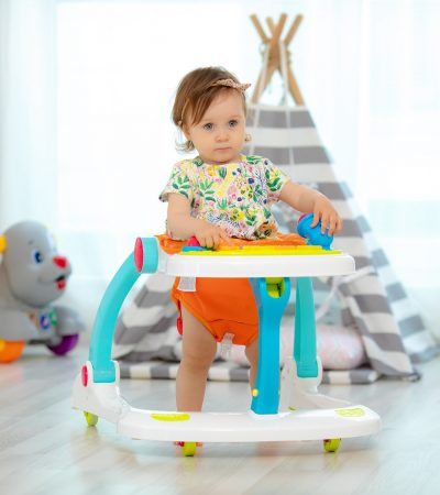 Ladida Gåstol och Gåvagn Lion Entertainer Walker 4-in-1