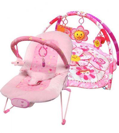 Ladida Babysitter och Babygym Pink Little Star Paketerbjudande