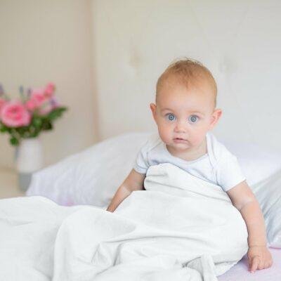 Beckasin Svalt Tyngdtäcke för Barn 2,6 kg Vit Bambu – Fritt från polyester