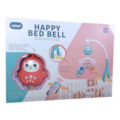 Ladida Fjärrstyrd Sängmobil Happy Bed Bell