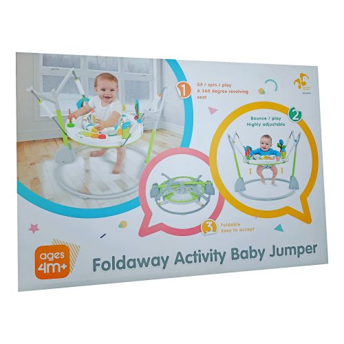 Ladida Hoppgunga Foldaway Activity Baby Jumper