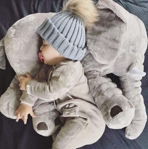 Beckasin Elefant kroppskudde/gosedjur