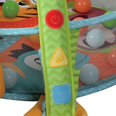Ladida Babygym Light and musical Ball Pit