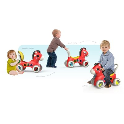 Ladida Gåvagn Push N´ Ride Pony Blå