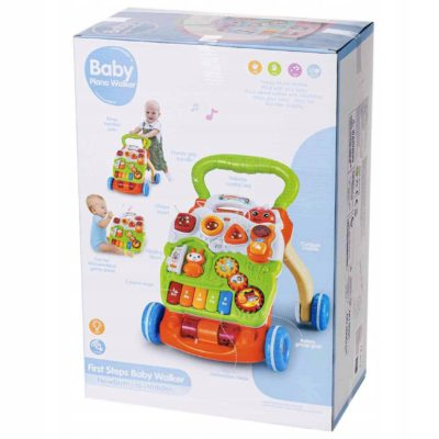 Ladida Gåvagn Baby Musical and Learning Walker
