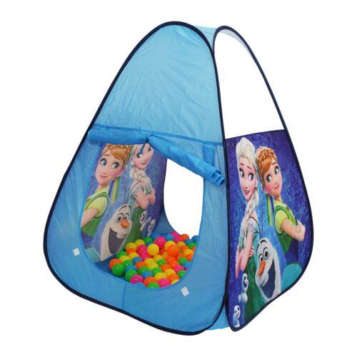 Ladida Pop-Up Tält med 100 bollar med motiv från Frost