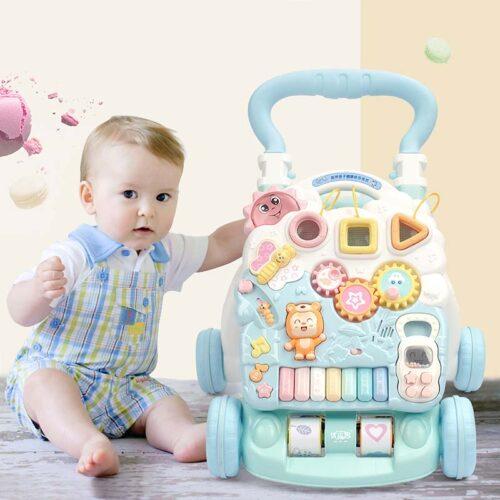 Ladida Gåvagn Baby Activity Piano Walker