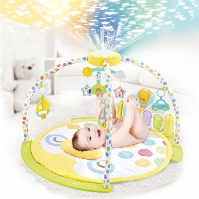 Ladida Babygym Cosmonova med Projektor och Aktivitetspanel