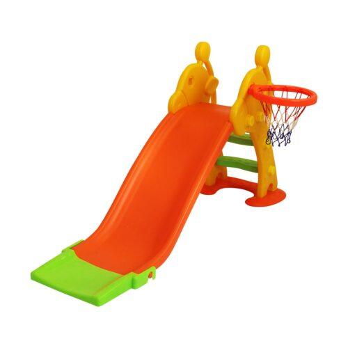 Ladida Fun Slide Rutschkana med Basketkorg